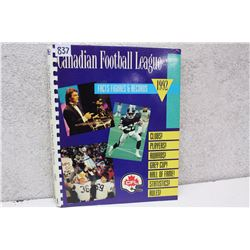 CFL Facts Figures & Records (1992)