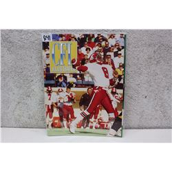 CFL Illustrated Calgary Stampeders Souvenir Magazine