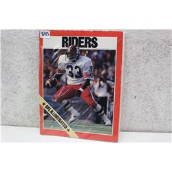 CFL Illustrated Rough Riders Souvenir Magazine