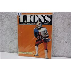 CFL Illustrated Lions Souvenir Magazine
