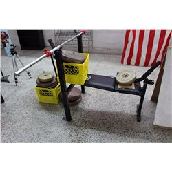 Weightlifting Bench With Weights, Equipment