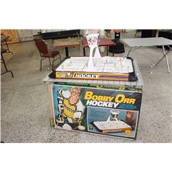 Bobby Orr Hockey Table Top Game (Rare, All Original Pieces)