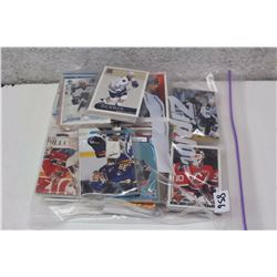 Bag of Wrapped Assorted Hockey Cards (100s of Cards)(Bill Guerin, Etc;)