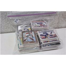 Bag of Wrapped Assorted Hockey Cards (100s of Cards)(Ed Belfour, Etc;)