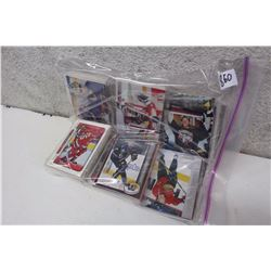 Bag of Wrapped Assorted Hockey Cards (100s of Cards)(Jason Allison, Etc;)