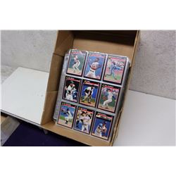 Lot of Assorted Baseball Cards (900)