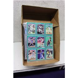 Box of Assorted Baseball Cards (900)