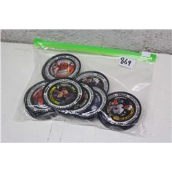 Lot of Metal Hockey Card Pogs