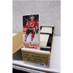 1993-94 Power Play Series I Hockey Cards Set (280 Cards)