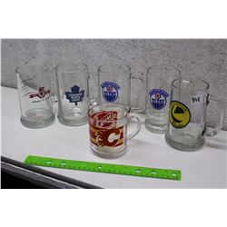 Lot of Hockey Related Glasses