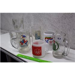 Lot of Olympic Games Related Glasses