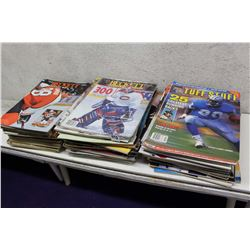 Assorted Sports Magazines (Beckett Hockey, Tuff Stuff, Etc;)