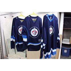 Lot of NHL Jerseys, New With Tags (Winnipeg Jets, Wheeler,  Byfluglien)