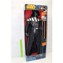 Large Darth Vader Figure With Lightsaber, Box Included