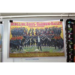 "Ringling Bros & Barnum & Bailey Combined Shows Poster (36""  x 25"")"