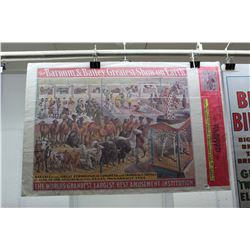 "The Barnum & Bailey Greatest Show On Earth Poster (38"" x 25.5"")"