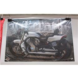 "Harley-Davidson Double-Sided Poster (36"" x 24"")"