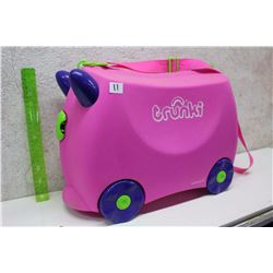 Trunki Plastic Kids Suitcase