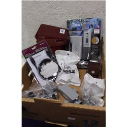 Lot of Misc (USB Data Link Cable, Door Chime Security Set)