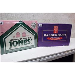 Keeping Up With The Jones' & Balderdash Board Games