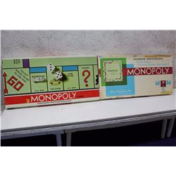 Monopoly Board Game (2) (1960s)