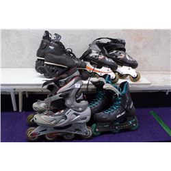 Lot of Roller Skates (4 Pairs)
