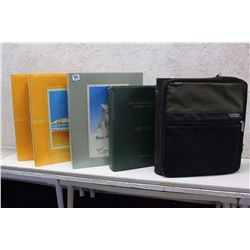 Lot of Binders (5)