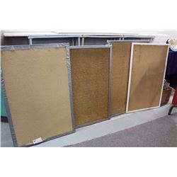 Lot of Bulletin Boards (4)