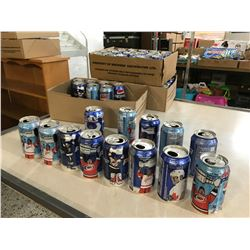 Lot of Sports Themed Collectable Pepsi Cans (62)