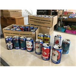 Lot of Sports Themed Collectable Pepsi Cans (64)