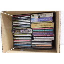 Lot of Assorted Music CDs (40+)(R.E.M, Collin Raye, etc;)