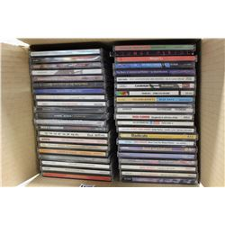 Lot of Assorted Music CDs (40+)(Mark Chesnutt, AC/DC, etc;)