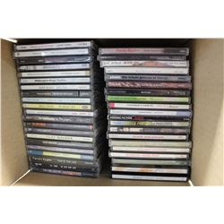 Lot of Assorted Music CDs (40+)(Nelly Furtado, Clay Walker, etc;)