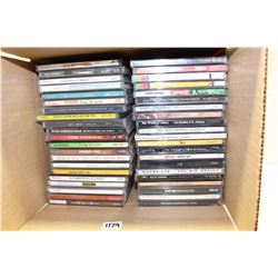 Lot of Assorted Music CDs (40+)(Celine Dion, Coldplay, etc;)