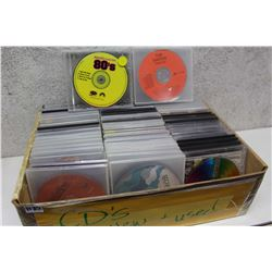 Lot of Misc CDs (50+)(The Smiths, Music From The 80s, etc;)