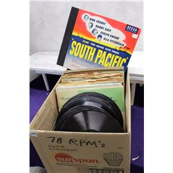 Lot of 78 RPM Records
