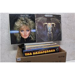 Box of LP Records (Bonnie Tyler, Eagles, etc;)