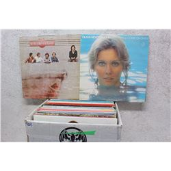 Box of LP Records (Olivia Newton-John, Little River Band, etc;)