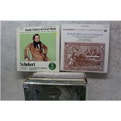 Box of LP Records (All Classical Music)