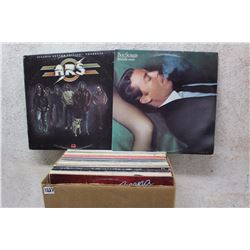 Box of LP Records (Boz Scaggs. ARS, etc;)