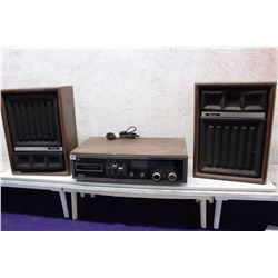 8 Track Cartridge Player (Working) & Detson Speakers(2)