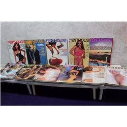 Lot of Penthouse Magazines (11)(Various Dates 1979-82)
