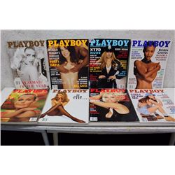 Lot of Playboy Magazines (8)(Various Dates 1993-94)