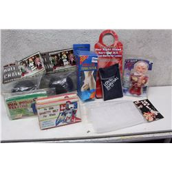 Lot of Adult XXX Toys & Novelties (One Night Stand Survival Kit, Hollow Thurster, etc;)