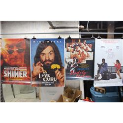 Lot of Movie Posters (5)(Shiner, Skindeep, etc;)