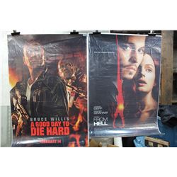 Lot of Movie Posters (2)(A Good Way To Die Hard & From Hell)