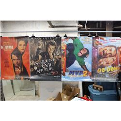 Lot of Movie Posters (5)(Charlotte Gray, Resident Evil: Afterlife, etc;)