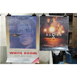 Lot of Movie Posters (2)(White Room & Signs)