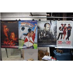 Lot of Movie Posters (5)(The Bucket List, In The Name of The King, etc;)
