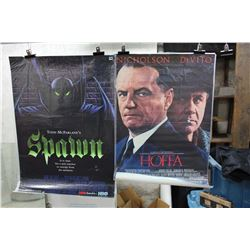 Lot of Movie Posters (2)(Spawn & Hoffa)